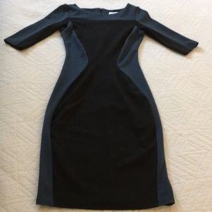 Closet brand dress. Size s/m. Slate blue and black